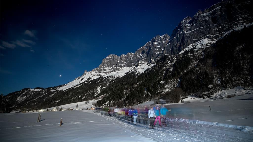 Mondscheinwanderung Gadmer Dolomiten by David Birri