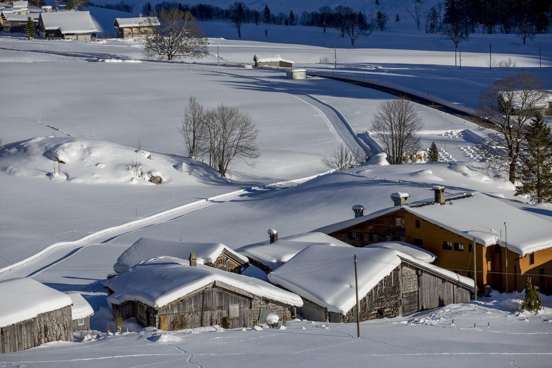 Winterwunderland Gadmer-Dolomiten by David Birri