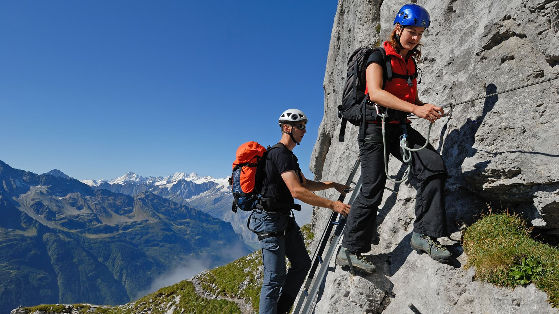 Klettersteig Tälli by Robert Bösch