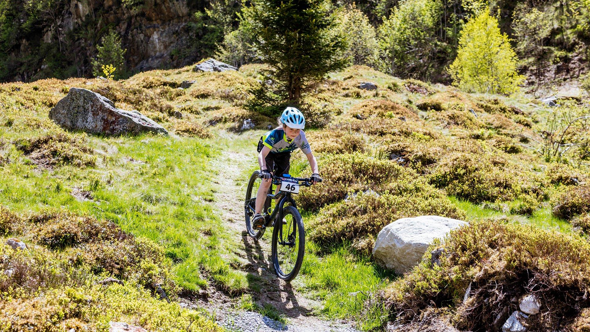 Mountainbike Singletrail Gadmen
