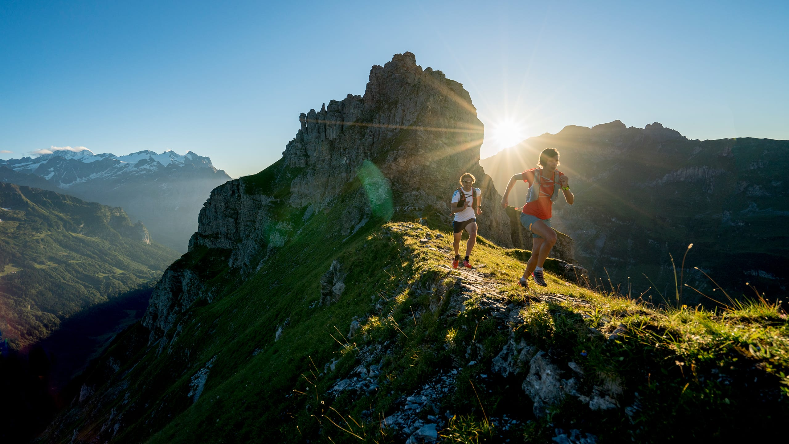 Trailrunning – Action pur in der faszinierenden Berglandschaft Gadmens.