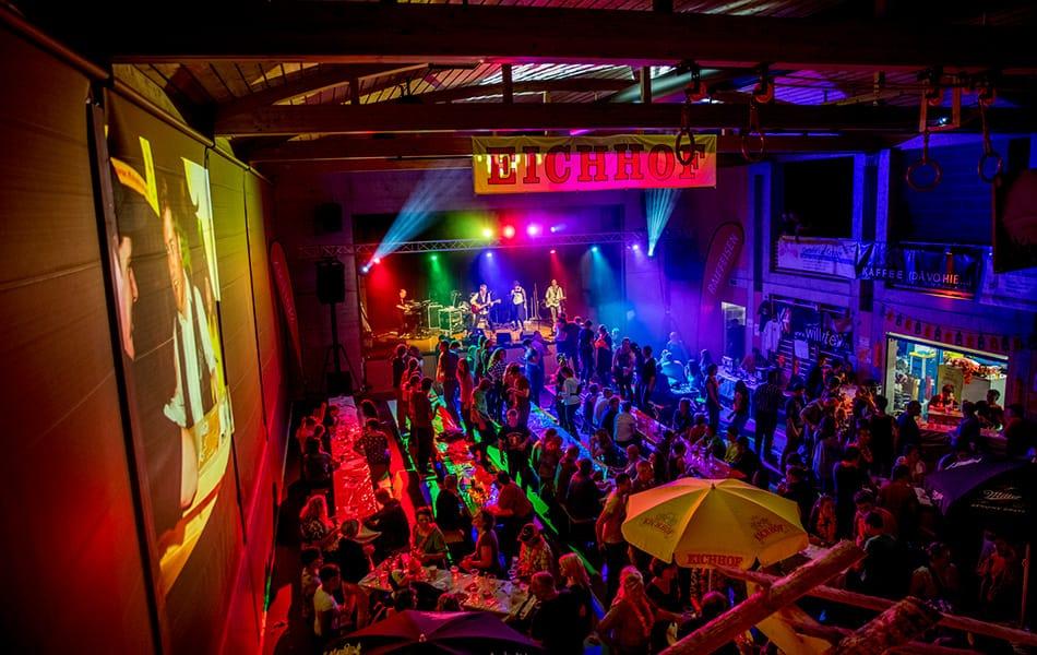 Alpen-Hirsch-Chilbi Gadmen: Der musikalische und gesellige Anlass mit rund 500 Besuchern ein etablierter Event im Haslital.