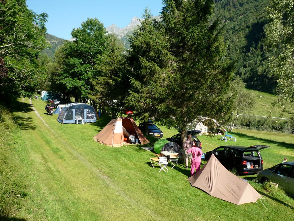 Idyllisch gelegen: Der Campingplatz Gadmen im Ortsteil Obermad.
